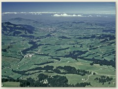 Blick ins St. Galler Rheintal