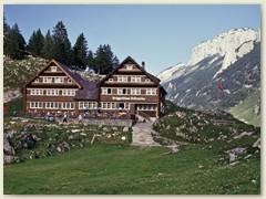 Bergrestaurant Bollenwies, unser Nachtlager