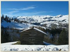 05 Wdg auf die Alp Runca, Blick ins Lumnezia