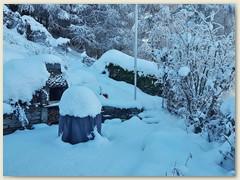 54 Eine Überraschung - so viel Schnee