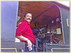 32_Thomas auf der Lok