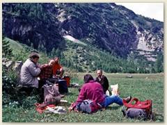 07 Eine ausgiebige Mittagspause gönnen wir uns im oberen Teil des Vallon de Van