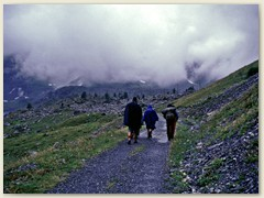 """09 Am Morgen,  ein Regentag,  im Gebiet mit dem Flurnamen """"Lanvouisset"""""""