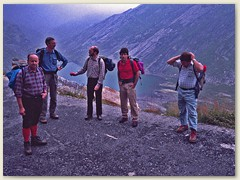 01 Oberhalb Robiei mit dem Stausee Lago di Robiei 1940 m