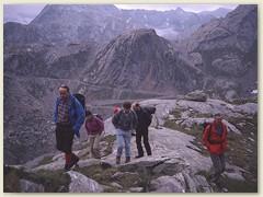 02 Auf dem Weg zum Passo Cristallina, im Hintergrund der Gh. del Basodino