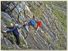 06 Der Bergweg führt recht steil zum Passo del Naret 2438m hinauf