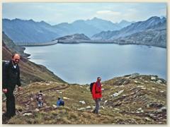 08 Lago del Narèt 2310 m, ein Stausee zuoberst im Val Sambuco
