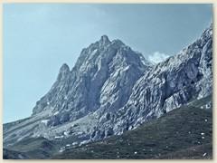 05 Die Sulzfluh 2817 m. Einer der zehn höchsten Alpengipfel im Räthikon