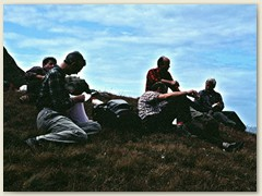 04 Mittagsrast bei Stiereläger 2278 m