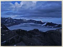 08 Der Glacier de la Plaine Morte mit Schwarzhorn, Schneehorn und Wildstrubel