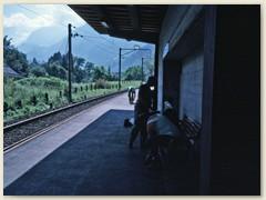 07 Mit der Standseilbahn von Braunwald ins Tal. Vom Bahnhof Linthal Braunwaldbahn mit der SBB nach Linthal