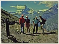 01 Oberhalt Sunnegga 2288 m