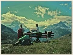 06 Das Matterhorn mit verstecktem Gipfel