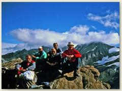 12  Auf dem Gipfel des Oberrothorns 3414 m