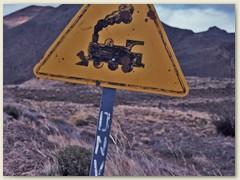 06 Ein seltenes Signal, kurz vor einer Strassenüberquerung