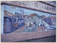 17 El Maiten, Betriebsmittelpunkt der Bahn, dieses verträumte patagonische Nest soll fast komplett von der Eisenbahn leben