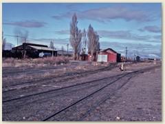 18 Noch herrscht Ruhe auf dem ausgedehnten Bahngelände