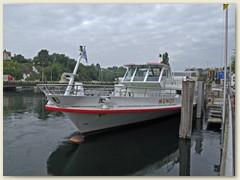 01 Das stilvoll und modern eingerichtete Motorschiff Munot