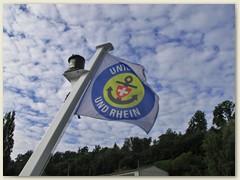 07 Fahne der Schweiz. Schifffahrtgsellschaft Untersee - Rhein
