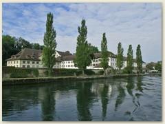 10 Das Kloster St.Katharinental ist heute eine Klinik für Reha und Langzeitpflege