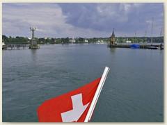 31 Einfahrt in den Hafen Konstanz